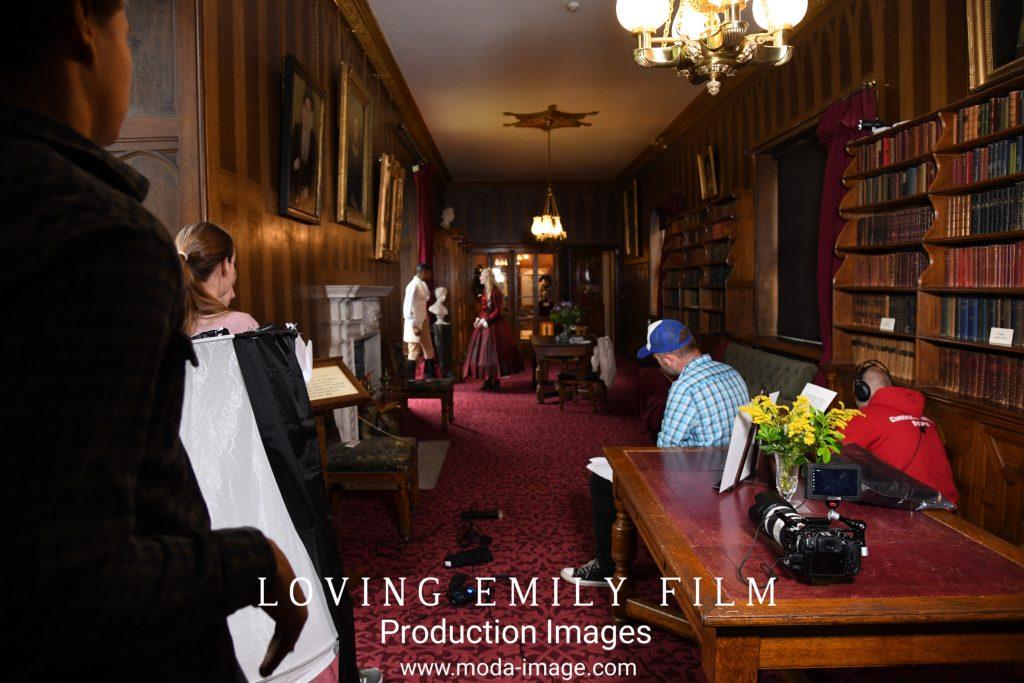 Loving Emily Film Set